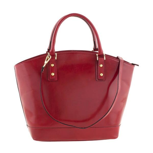 Skórzana torebka Ore Diece Sassuolo, czerwona