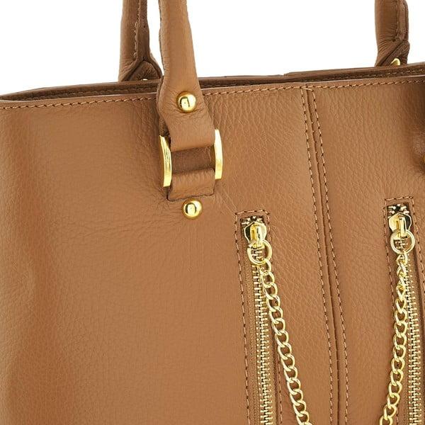 Skórzana torebka Bis Honey