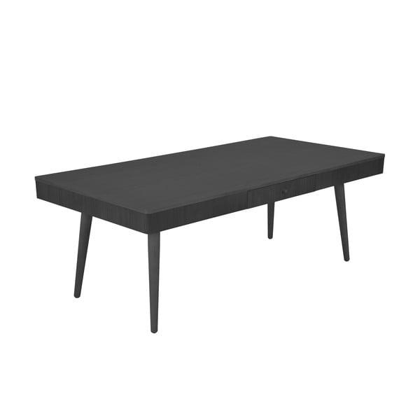 Stolik Niles 130x68 cm, czarny