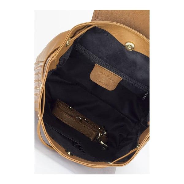 Plecak  Giulia Massari 9990 Cognac