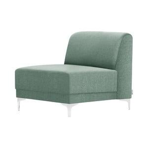 Niebieski fotel Florenzzi Allegra