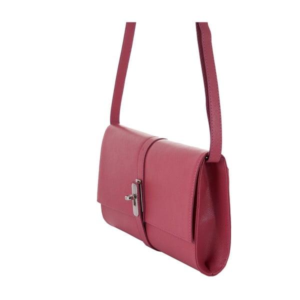 Różowa torebka skórzana Andrea Cardone 1010