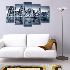 Pięcioczęściowy obraz Wielkie Miasto