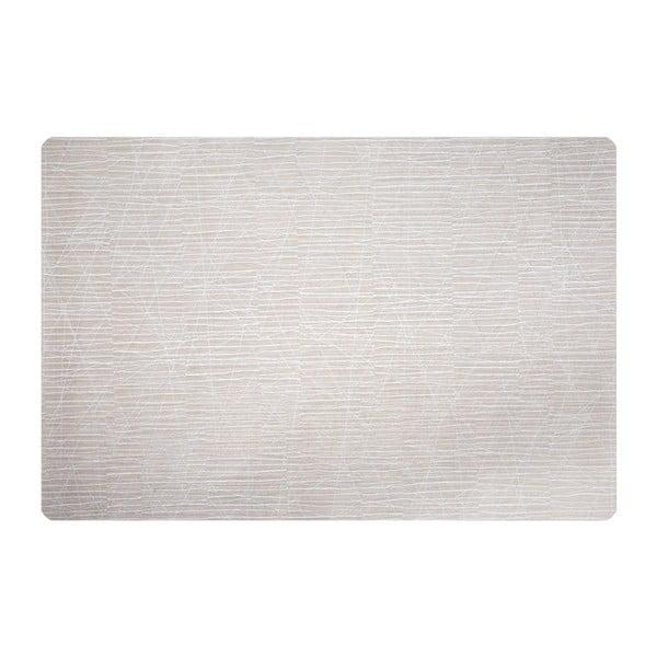 Zestaw dwóch mat Lines, piaskowa/biała