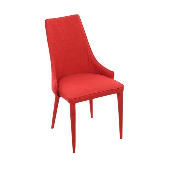Czerwone krzesło do jadalni InArt Red Universe