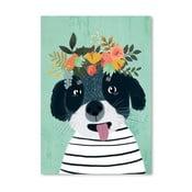 Plakat (projekt: Mia Charro) - Puppy