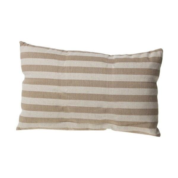 Poduszka Cosas de Casa Stripes, 30x50 cm, beżowa