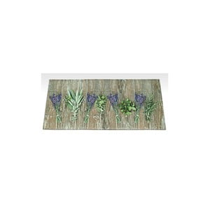 Wysoce wytrzymały chodnik kuchenny Floorita Lavender, 60x140 cm