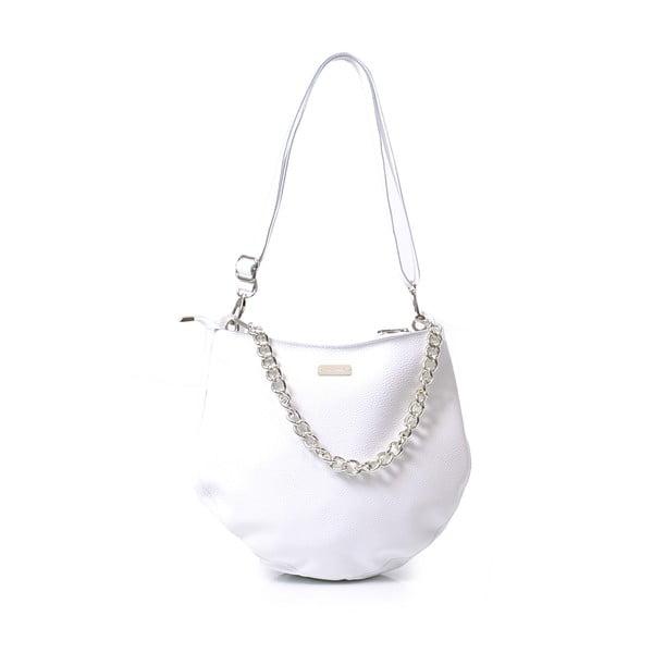 Skórzana torebka Melia, biala