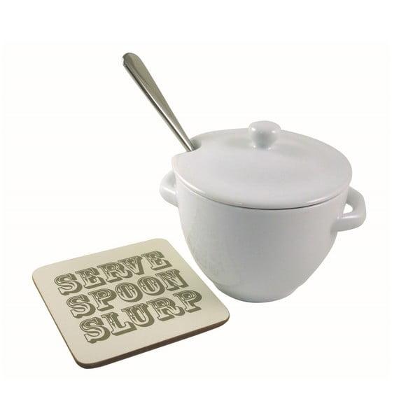 Waza na zupę z chochelką i podkładką Jamie Oliver