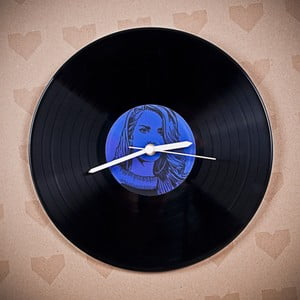 Winylowy zegar Lana Del Rey