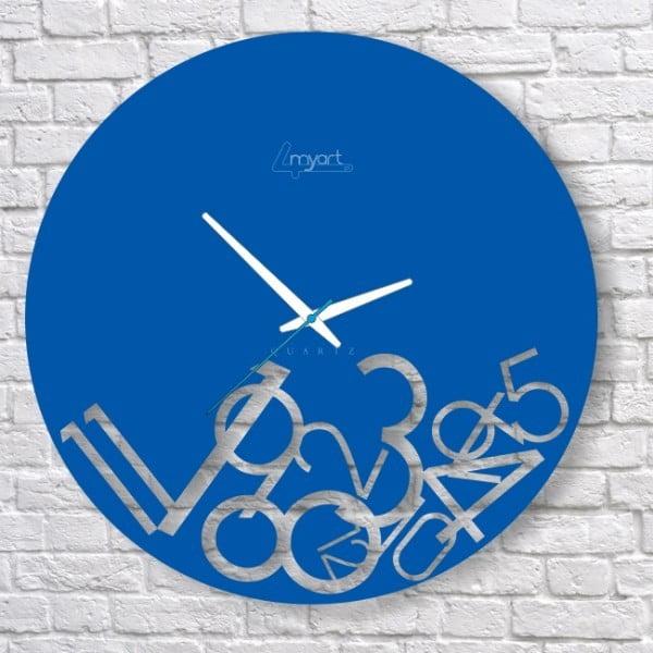 Zegar ścienny Blue Confusion