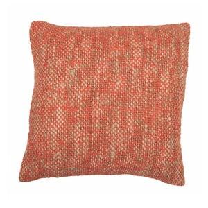 Pomarańczowa poduszka ZicZac Chambray, 45x45 cm