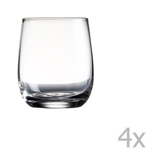 Zestaw 4 szklanek Sola Tumbler, 322 ml