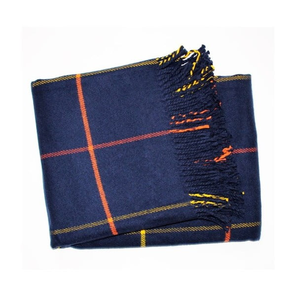 Koc Check Navy Blue, 140x180 cm