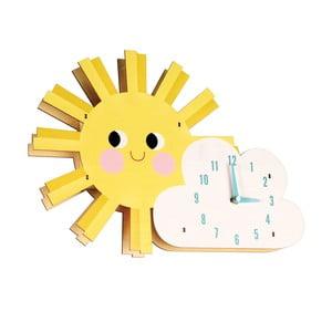 Zegar drewniany Rex London Hello Sunshine