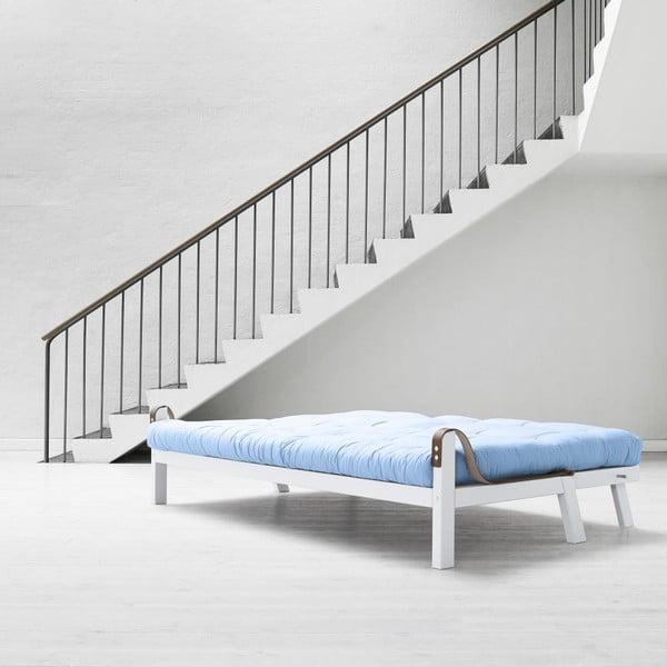 Sofa rozkładana Karup Poetry White/Celeste/Gris