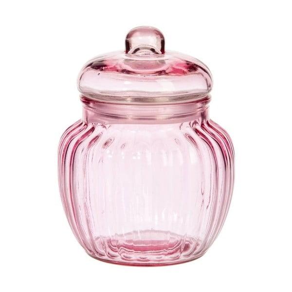 Pojemnik Pink Glass, 12x14 cm