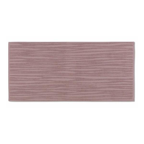 Różowy ręcznik Kela Lindano, 50x100 cm