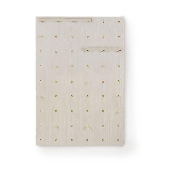 Tablica naścienna z półkami Pegboard Grey