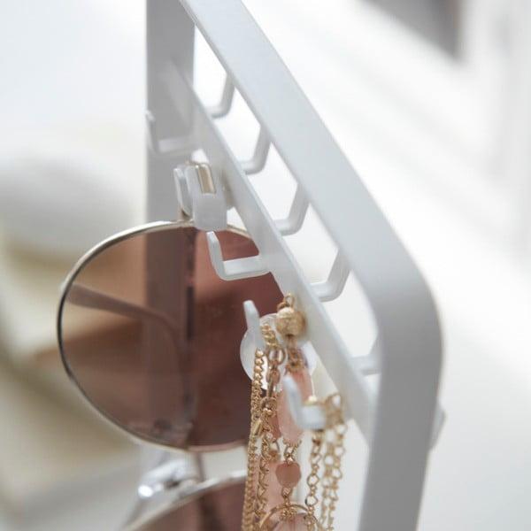 Biały stojak na biżuterię Yamazaki Tower