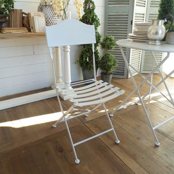 Krzesło składane White Garden
