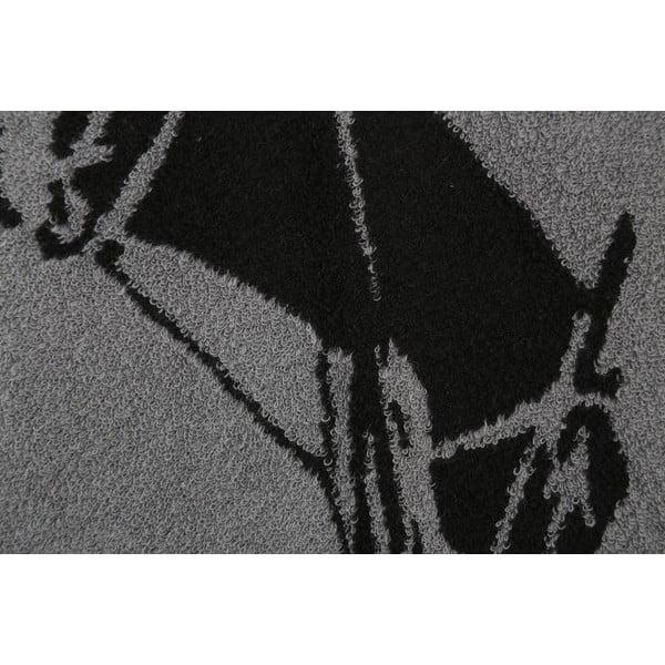 Ręcznik bawełniany BHPC 80x150 cm, grafitowy