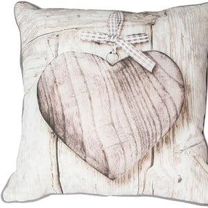 Poduszka Graham & Brown Wooden Heart,50x50cm