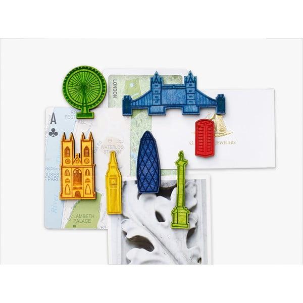 Komplet 7 magnesów Design Ideas Landmark London