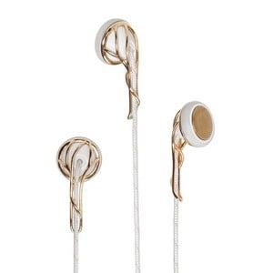 Słuchawki The Ella, white/gold