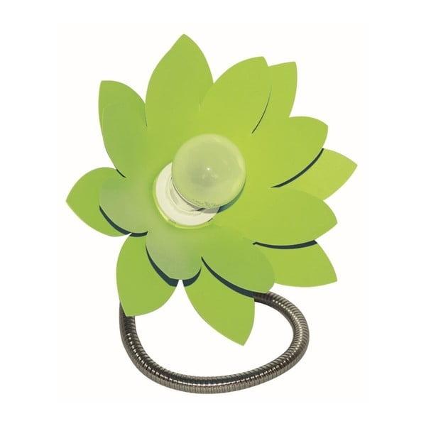 Zielona lampa stołowa Incidence Noumea