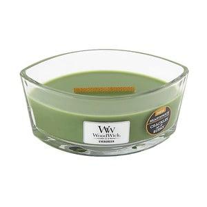 Świeczka o zapachu igliwia WoodWick, czas palenia 50 h