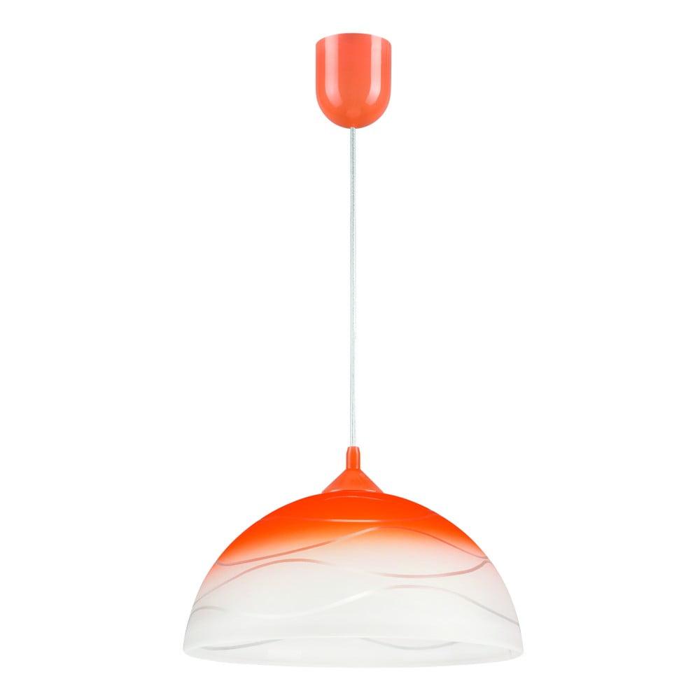 Pomarańczowa lampa wisząca Lamkur Waves