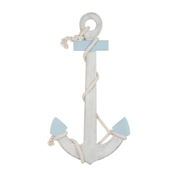 Dekoracja Anchor Blue, 70x37x5 cm