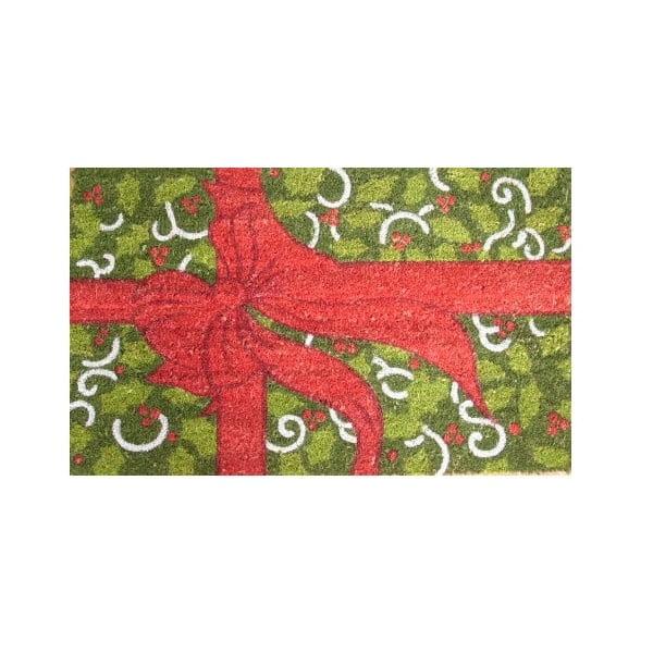 Wycieraczka Christmas Bow, 73x45 cm
