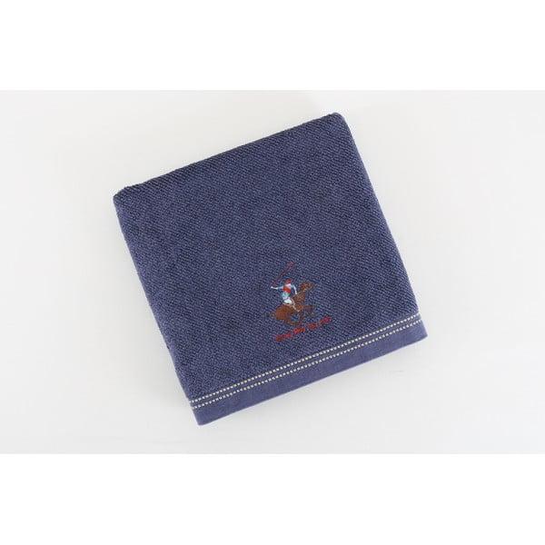 Ręcznik BHPC, 80x150 cm, ciemnoniebieski