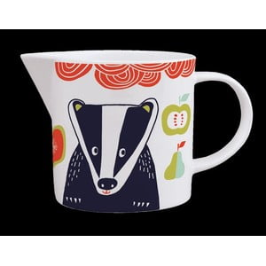 Dzbanek z angielskiej porcelany Folkland Badger