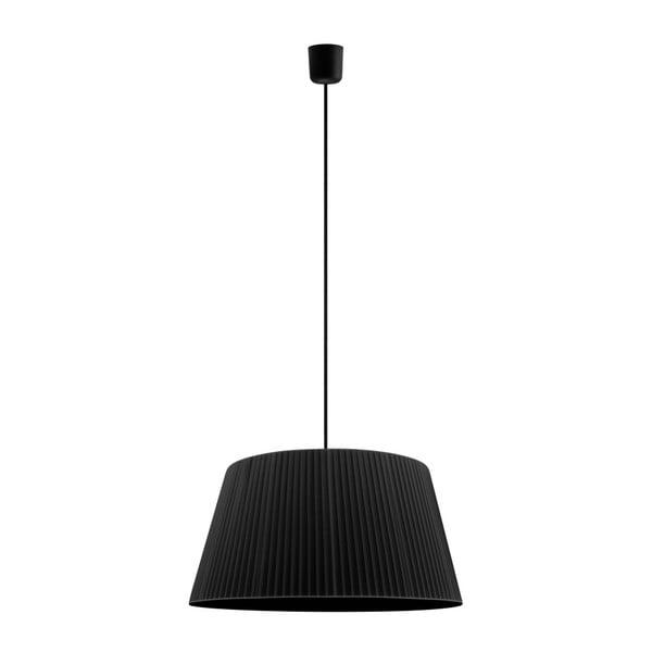 Czarna   lampa wisząca Bulb Attack Dos Plisado ⌀ 45 cm