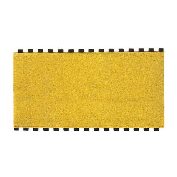 Tapperello Zinc Yellow, dywan 120x65 cm