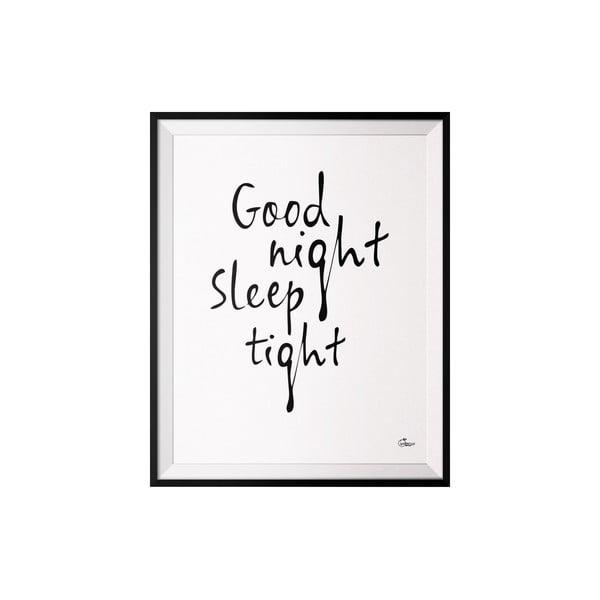 Plakat Good Night, 40x50 cm