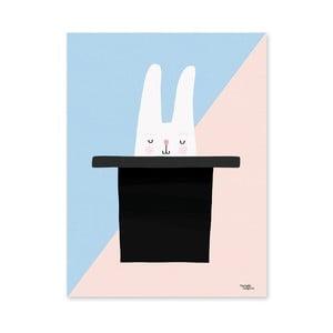 Plakat Michelle Carlslund Bunny Hat Trick, 50x70cm