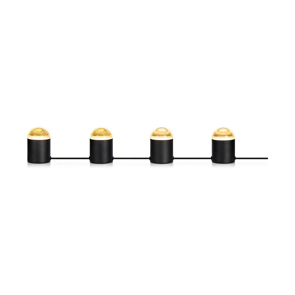 Czarna lampa stołowa z 4 żarówkami Markslöjd Jinx