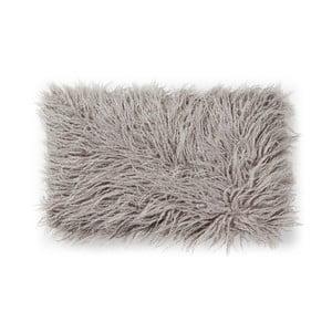 Szara poduszka ze sztucznej skóry La Forma Brock, 30x50 cm