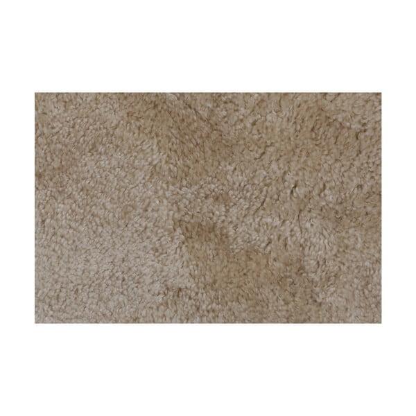 Jasnobeżowy dywanik łazienkowy Miami, 80x140 cm