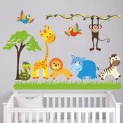 Naklejka ścienna Zwierzęta i safari, 90x60 cm
