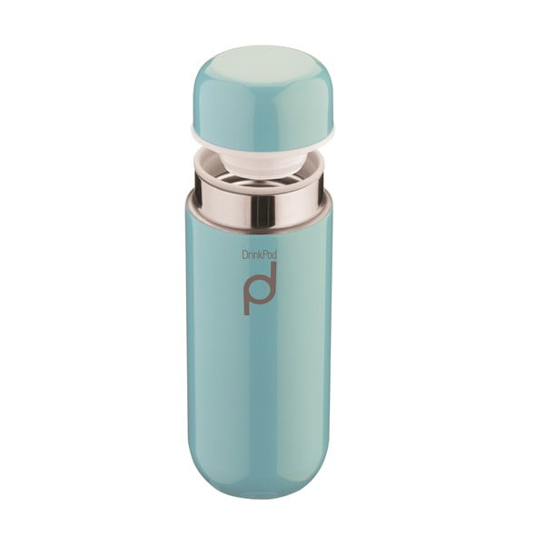 Niebieski termos Pioneer Vacuum, 200 ml