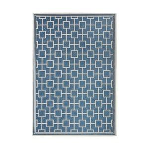 Dywan nadający się na zewnątrz Botany 115x165 cm, niebieski