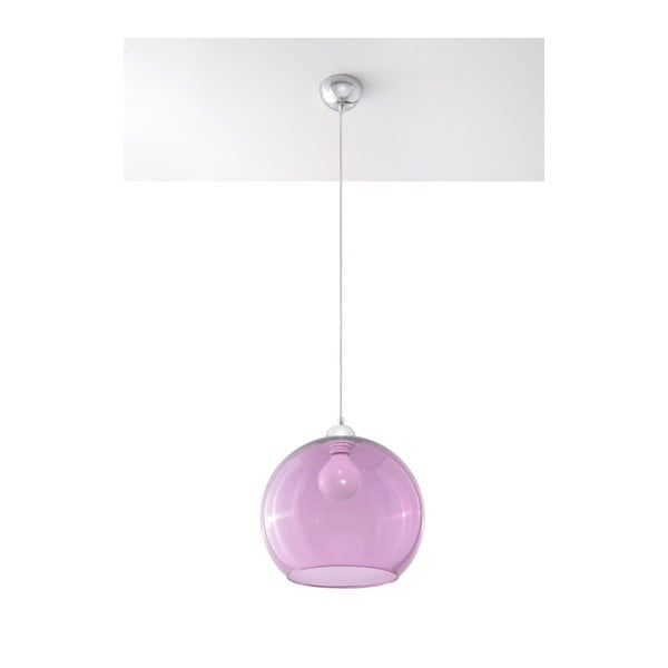 Fioletowa lampa wisząca Nice Lamps Bilbao
