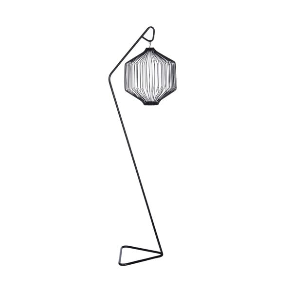 Lampion Triangle Black, 115 cm