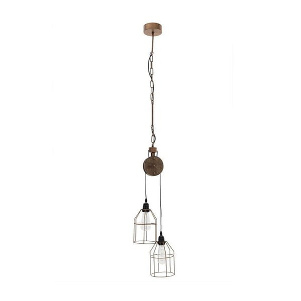 Lampa wisząca InArt Metal and Wood Twice